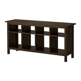 IKEA, HEMNES, Консольный стол, черно-коричневый, 157x40 см (002.518.09)(00251809) ХЕМНЕС ИКЕА
