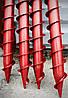 Свая винтовая многолопастная диаметром 76 мм длиною 1 метра, фото 4