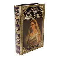 """Книга-сейф тайник для денег BST 490109 33×22×7 см разноцветная """"Мария Стюарт"""""""