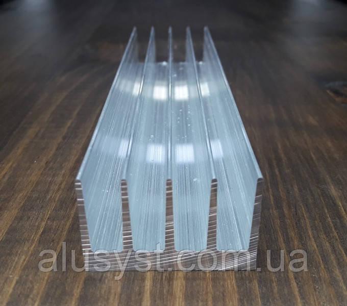 Радиаторный профиль 42х26. Деталь 95мм