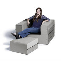 Комплект мебели Ziplile (кресло и пуф)
