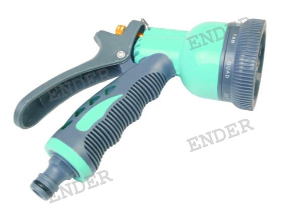 Пистолет для полива Ender 8 режимов полива металл