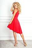 Сукня жіноча з шлейфом без рукава, фото 2