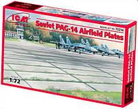 1:72 Плиты аэродромного покрытия ПАГ-14, ICM 72214