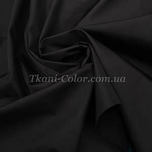Ткань плащевка на основе президент черный