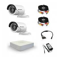 Комплект видеонаблюдения Hikvision Standart 2 уличные