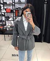 Пальто кашемировое женское короткое в расцветках 26800
