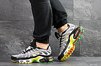 Мужские кроссовки Nike Air Max Plus Tn Ultra, артикул: 7511 серые с белым\желтые, фото 1