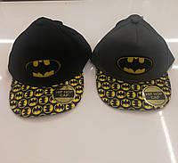 Кепки детские для мальчиков Batman от Disney 54-56 cm