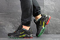 Мужские кроссовки Nike Air Max Plus Tn Ultra, артикул: 7509 черные с желтым, фото 1