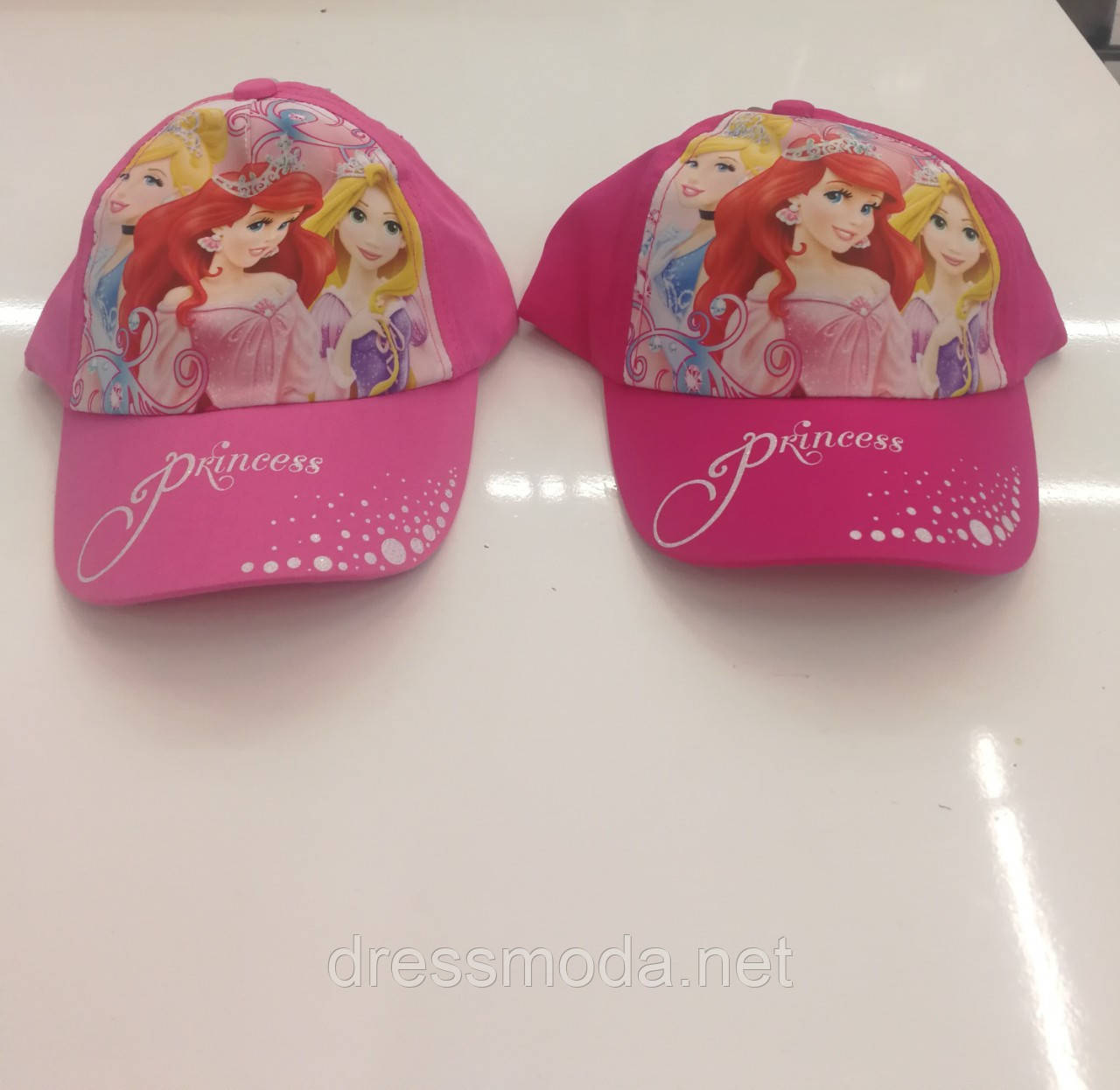 Кепки детские для девочек Princess от Disney 52-54 cm