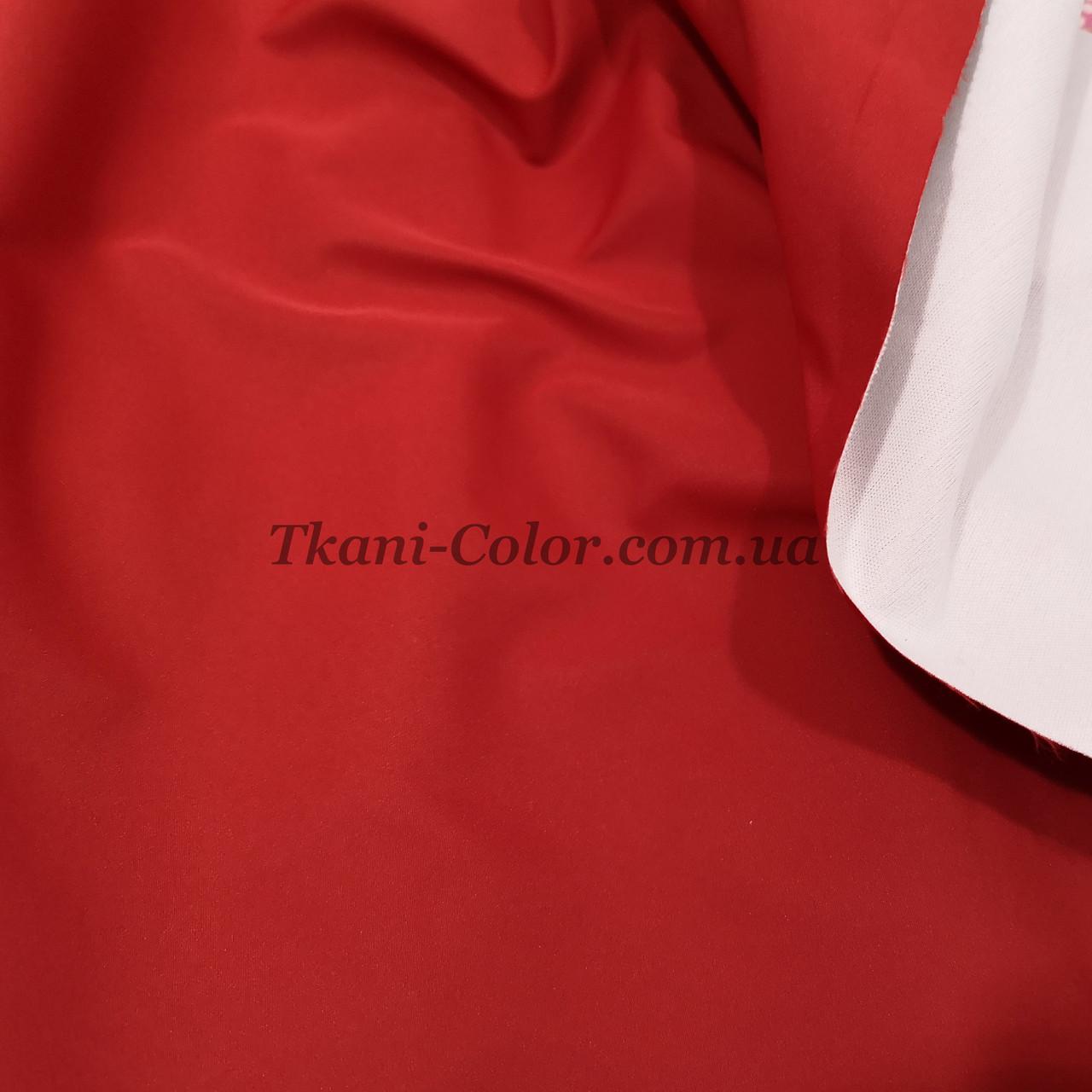 Ткань плащевка на основе президент красный