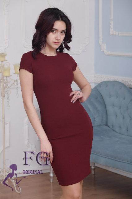 Платье футляр длинна 90 см 42 44 46 48 50 Р