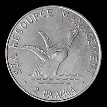 Монета Тонга 2 паанга 1980 г. ФАО
