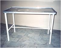 СТОЛ ЗОМБЕРГА СЗ-1 (стол инструментальный с нержавеющей панелью)