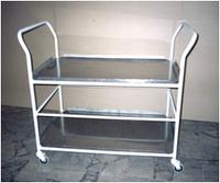 ТЕЛЕЖКА ДЛЯ ХРАНЕНИЯ И ПЕРЕВОЗКИ БИКС (стерилизационных коробок)