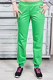 Спортивные штаны  женские с манжетами красивые 42 44 46 48 50 Р, фото 4