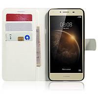 Чехол-книжка Litchie Wallet для Huawei Y5 II Белый