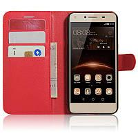 Чехол-книжка Litchie Wallet для Huawei Y5 II Красный