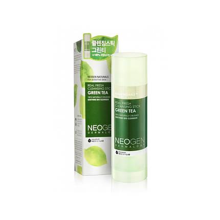 Очищающий стик с зеленым чаем Neogen Dermalogy Real Fresh Cleansing Stick Green Tea, 80 мл, фото 2