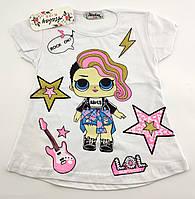 Детская футболка 1 2 3 и 4 года Турция для девочки майка на девочку детские футболки