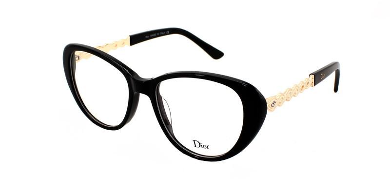 Модная оправа для очков Dior Black Tie
