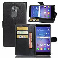 Чехол-книжка Litchie Wallet для Huawei GR5 2017 Черный