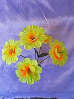 """Пасхальные цветы """"Бусинка 5 голов"""""""