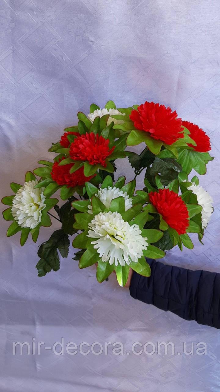 """Пасхальные цветы """"Гвоздика 2хцветная 11 голов"""""""