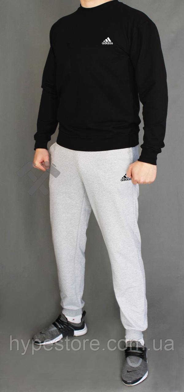 Мужской весенний комбинированный спортивный костюм, чоловічий костюм Adidas, Адидас, Реплика