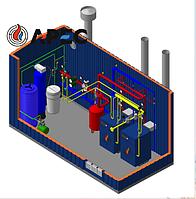 Газовая Блочно Модульная  Котельная 100 кВт