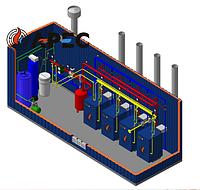 Газовая Блочно Модульная Котельная 400 кВт