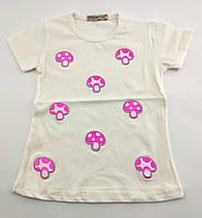 Детская футболка 4 5 6 7 и 8 лет Турция для девочки майка детские футболки майки на девочку