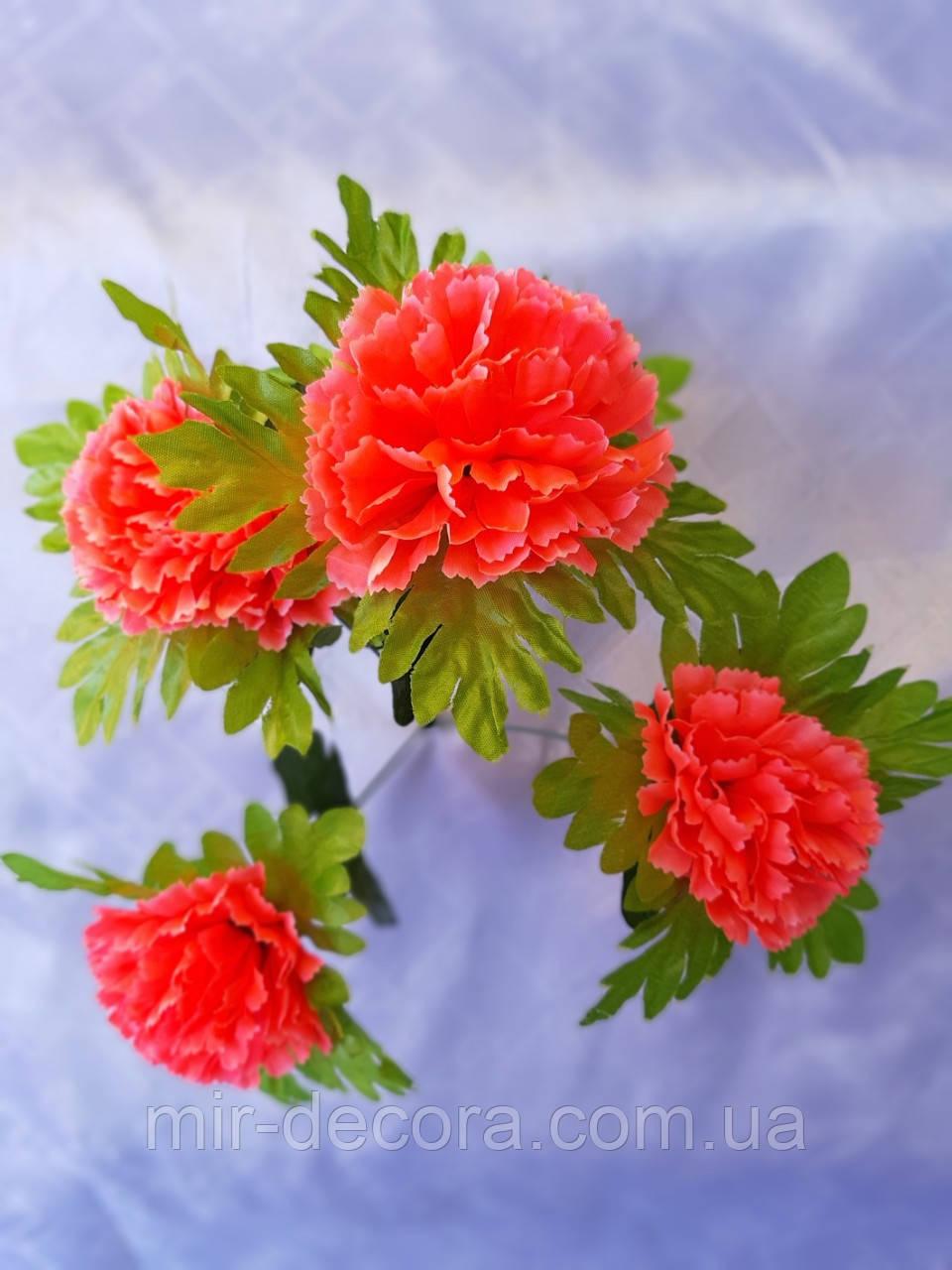 """Пасхальные цветы """"Гвоздика 5 голов"""""""