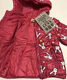 Куртка для дівчинки 1-5 років, фото 2