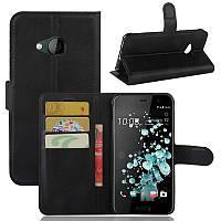 Чехол-книжка Litchie Wallet для HTC U Play Черный