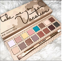 Тени Kylie Jenner TAKE ME ON VACATION Palette Палетка