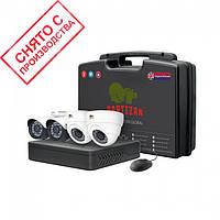Комплект видеонаблюдения PARTIZAN Mixed Kit 2MP 4xAHD