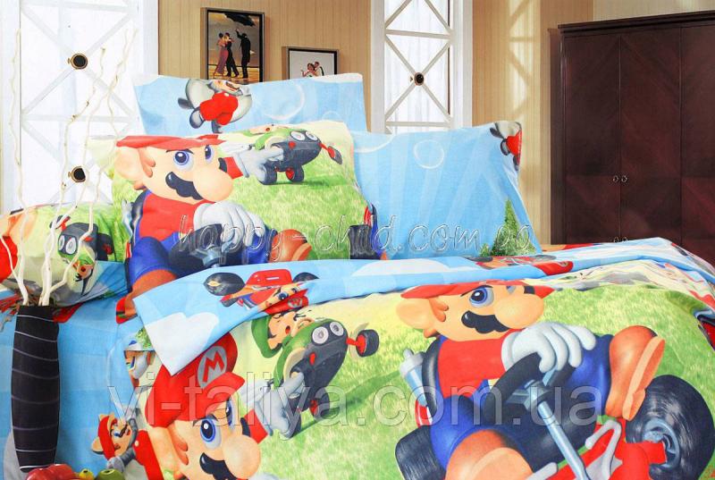 Комплект постельного белья Супер Марио,  Mario, фото 1