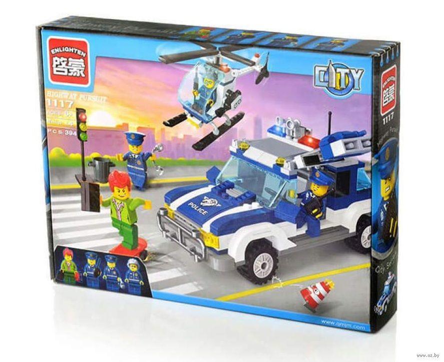 """Конструктор Brick 1117 City """"Полиция"""" (393 детали)"""