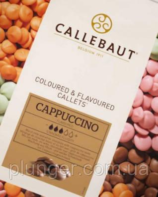 Союз темного шоколада, белого шоколада и капучино, 100 г, Callebaut, Бельгия