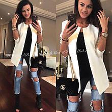 Пиджак женский кардиган модный стильный белый красный черный... 42 44 46 48 50 Р