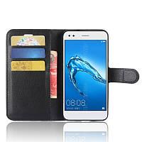Чехол-книжка Litchie Wallet для Huawei P9 Lite Mini Черный