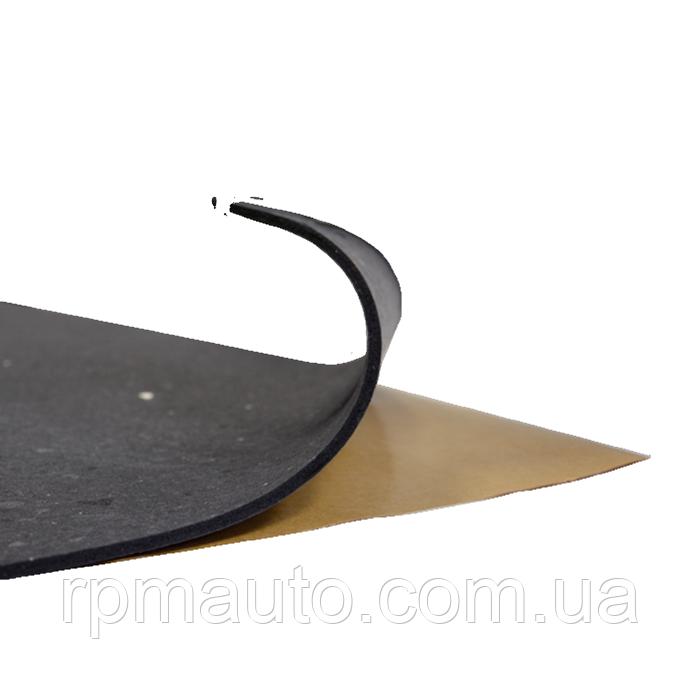 Шумоізоляція Авто СТК Faton Black 4 мм 100х50 см Обесшумка Шумка Антискрип Теплошумоізоляція Автомобіля