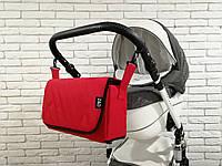 Сумка-пеленатор на коляску Z&D Красный