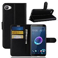 Чехол-книжка Litchie Wallet для HTC Desire 12 Черный