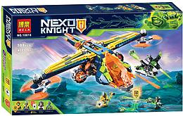 "Конструктор Bela 10818 Nexo Knights (аналог Lego 72005) ""Лук-Х Аарона"", 588 дет"