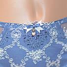 Трусы микрофибра с кружевом джинсовые Lanny Mode, фото 3