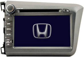 Штатная магнитола Globex GU-H823 для Honda Civic 2012+