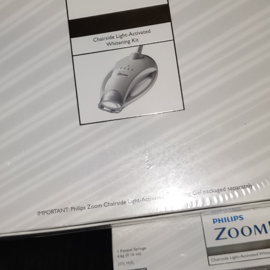 Набор для клинического отбеливания zoom philips 25% для двух пациентов